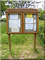 TM4584 : Sotterley Chapel Notice Board by AGC