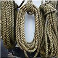 S7127 : Ropes at the foot of the mainmast : Week 24