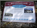 NJ8400 : Old Deeside Line by Stanley Howe