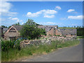 NU0740 : Derelict farm buildings at Fenwick Granary by Graham Robson