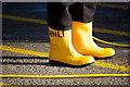 J5082 : Yellow boots, Bangor : Week 25