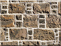 NT2572 : Craigmillar stonework by Alan Murray-Rust