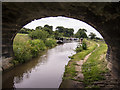SJ8458 : Macclesfield Canal - Bridge 86 by Kim Fyson