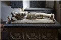 SX2358 : Church of St Cuby & St Leonard, Duloe - tomb of Sir John Colshill by Mike Searle
