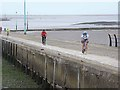 SD3448 : Ferry ramp, Knott End by Oliver Dixon