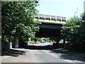 SP0693 : M6 motorway bridge over Beeches Road by JThomas