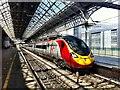 SD5328 : A Virgin 'Pendolino' train at Platform 5 of Preston Railway Station : Week 28