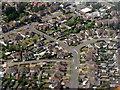 TL0619 : Caddington from the air by M J Richardson