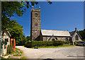 SW6434 : St Crewenna's church, Crowan by Mike Searle