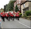 SJ9593 : Adamson Band on Joel Lane by Gerald England