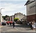 SJ9593 : Marching down Joel Lane by Gerald England