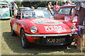 TQ9529 : Shepherd Neame Triumph Spitfire at Appledore Show by Oast House Archive