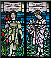 TQ2779 : Assumption & All Saints, Ennismore Gardens - Stained glass window : Week 31