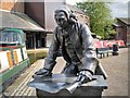 SP3379 : James Brindley, Coventry Canal Basin by David Dixon