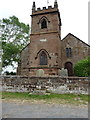 SJ4570 : St Peter's Church at Plemstall by Richard Law