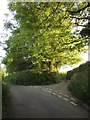 SX3968 : Lane junction near Berry Farm by Derek Harper