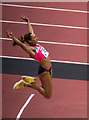 TQ3784 : Sainsbury Anniversary Games at the Olympic Stadium, Stratford by Christine Matthews