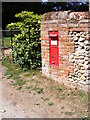 TM2799 : Howe Church Victorian Postbox by Adrian Cable