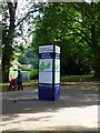 TQ2979 : RideLondon spectator information board in St James's Park by PAUL FARMER