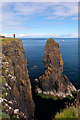 NG4176 : Middle Stack at Rubha Hunish : Week 31