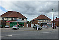 SK3732 : Shops on Harvey Road by David Lally