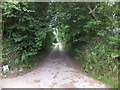 SX4665 : Footpath and bridleway at Collytown by David Smith