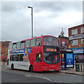 SP1283 : Outer Circle bus 11A, Westley Road, Acocks Green by Robin Stott
