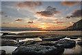 SS8873 : Dunraven Bay - Glamorgan by Mick Lobb