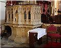 TQ3571 : St Bartholomew, Sydenham - Pulpit by John Salmon