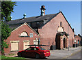 SE3902 : Wombwell - former swimming baths by Dave Bevis