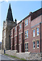 SE3903 : Wombwell - former Methodist church - Lower York Street frontage by Dave Bevis