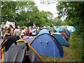TQ3029 : Tented village, Balcombe fracking protest : Week 34