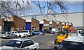 SP0665 : Small factory units off Howard Road, Park Farm, Redditch by Robin Stott