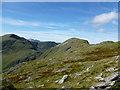 NN1451 : View along the ridge, Beinn Maol Chaluim : Week 35