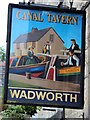 ST8260 : Canal Tavern sign by Oast House Archive