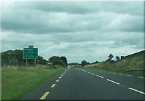 N2620 : The N52 some 10 km south-west of Tullamore, Co. Offaly by Eric Jones
