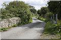 SW3926 : Road crosses stream by Elizabeth Scott
