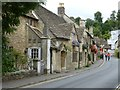 ST8477 : Castle Combe - The Street - western side by Rob Farrow