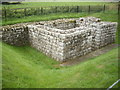 NY9170 : An internal tower (1), South Wall of the Roman Fort at Chesters by Stanley Howe
