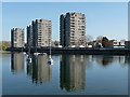 TQ4779 : Thamesmead South Estate, Hartslock Drive by Stephen Richards