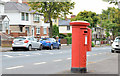 J3175 : Pillar box and drop box, Woodvale, Belfast by Albert Bridge