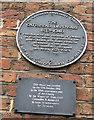Photo of Gateshead Dispensary grey plaque