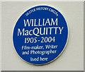 Photo of William MacQuitty blue plaque