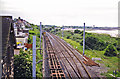 SD4666 : Site of Hest Bank station, West Coast Main Line 1998 by Ben Brooksbank