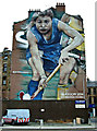 NS5566 : 2014 Commonwealth Games murals, Partick : Week 39