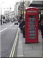 TQ3080 : London: red phone box, 368 Strand by Chris Downer