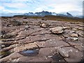 NG9354 : Sandstone pavement on Seana Mheallan, Torridon : Week 40