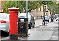 J3175 : Pillar box, Belfast by Albert Bridge