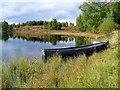 NO0247 : Dinghy on Rotmell Loch : Week 41