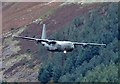 NT2421 : A Hercules flying by Bowerhope Law : Week 41